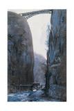 Bridge Giclee Print by Umberto Boccioni