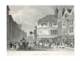 Fleet Street, from 'London and it's Environs in the Nineteenth Century' Giclee Print by Thomas Hosmer Shepherd