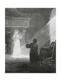The Man in the Iron Mask, 19th Century Giclée-Druck von Tony Robert-fleury