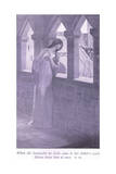 When Sir Launcelot Du Lake Came to Her Father's Court Elaine Knew Him at Once Giclee Print by William Henry Margetson