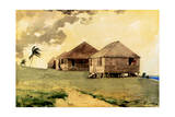 Upcoming Tornado, Bahamas, 1885 Giclee Print by Winslow Homer