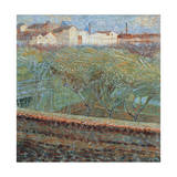 April Evening, 1908 Giclee Print by Umberto Boccioni