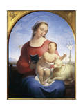 Our Lady of the Rosary, 1840 Giclee Print by Tommaso Minardi