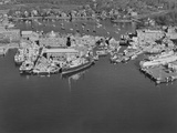 Aerial View of the Woods Hole Oceanographic Institute Photographic Print