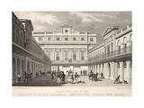 N.W. View of the London Horse and Carriage Repository Giclee Print by Thomas Hosmer Shepherd