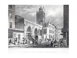 Church of St Giles Giclee Print by Thomas Hosmer Shepherd