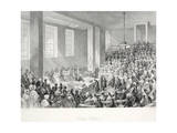 King's College, from 'London Interiors with their Costumes and Ceremonies' Giclee Print by Thomas Hosmer Shepherd