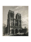 Notre Dame Cathedral Giclee Print
