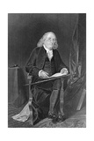 Seated Portrait of Benjamin Franklin Giclee Print