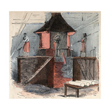 19Th-Century Illustration of Glass Blowing Giclee Print by Stefano Bianchetti