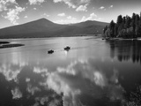 Boating on Upper Klamath Lake Photographic Print by Leland J. Prater