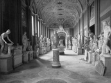 Statuary Gallery at the Vatican Museum Photographic Print