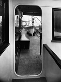 A Lifeboat Seen through a Doorway Photographic Print by Edwin Levick
