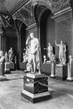 Roman Sculpture in the Louvre Museum Photographic Print