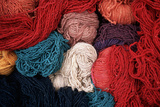 Dyed Wool Photographic Print by Alison Wright