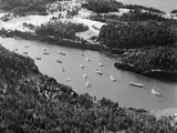 Boats in Passamaquoddy Bay Photographic Print by Charles Rotkin