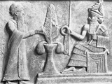 Detail of the Stele of Ur-Nammu Photographic Print