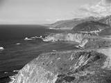Aerial View of Big Sur Coastline Photographic Print by Charles Rotkin