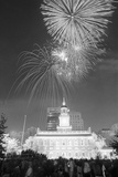 Fireworks on the Fourth of July Photographic Print