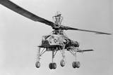 View of Howard Hughes XH 17 Helicopter Photographic Print