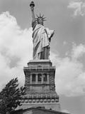 Upper View of Statue of Liberty Photographic Print by Philip Gendreau