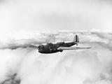 Martin B-10 Bomber Flying Photographic Print