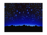 Night Sky Giclee Print by Matthias Kulka