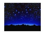 Night Sky Lámina giclée por Matthias Kulka