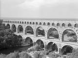 View of Aqueduct in France Photographic Print by Philip Gendreau