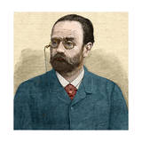 Portrait of Emile Zola Giclee Print by Stefano Bianchetti