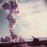 Atomic Cloud from Gun Shot Photographic Print