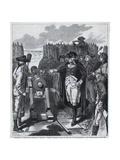 George Washington Firing First Cannon Giclee Print