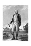 Painting of George Washington by George Hicks Giclee Print