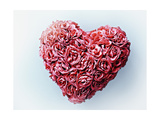 Heart Shape Symbol Impression giclée par Matthias Kulka