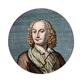 Portrait of Antonio Vivaldi Giclee Print by Stefano Bianchetti