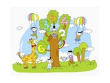 The Image of Math Education Giclee Print by  TongRo