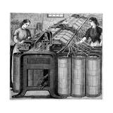 Illustration of the Manufacture of Cotton Giclee Print by Stefano Bianchetti