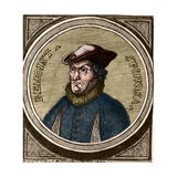 Portrait of Baruch Spinoza Giclee Print by Stefano Bianchetti