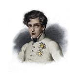 Portrait of Napoleon Ii, Duke of Reichstadt Giclee Print by Stefano Bianchetti