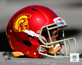 USC Trojans Helmet Spotlight Photo