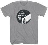 Gregg Allman - 74 Tour T-shirts