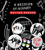 5 Seconds of Summer - New Badge Pack Badge