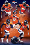 Denver Broncos - Team 14 Plakater