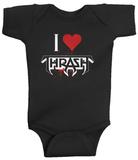 Infant: Testament - I Heart Thrash Creeper Grenouillère bébé