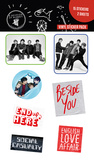 5 Seconds of Summer - Band Sticker Pack Stickers