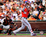 Bryce Harper Home Run Game 3 of the 2014 National League Division Series Photo