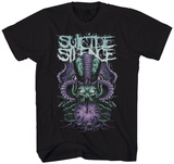 Suicide Silence - Purple Time Stealer Tshirts