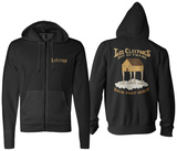 Zip Hoodie: Les Claypool - Duo De Twang (Front/Back) Rozpinana bluza z kapturem