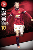 Manchester United - Wayne Rooney 14/15 Prints
