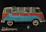 VW Camper Advert Poster